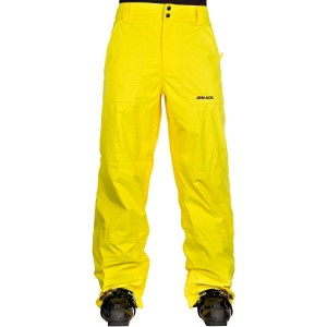 armada yellow ski pants