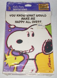 hallmark snoopy birthday party supplies