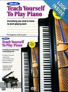 alfreds teach yourself piano lesson books for adults