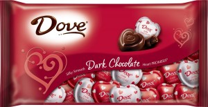 dove dark chocolate valentines day candy