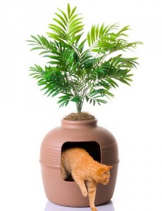 good pet stuff cat litter box furniture plant pot