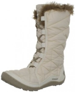 columbia minx white winter boots for women
