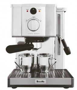 breville esp8xl stainless steel espresso maker