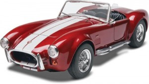 revell monogram shelby cobra 424 plastic car model kits