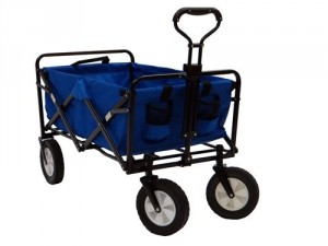 folding utility cart from blue mac sports