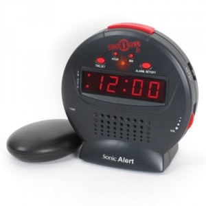 sonic alert sonic bomb alarm clocks for heavy sleepers