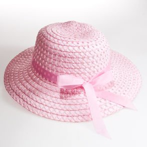 pink girls easter bonnet hat from design r kidz