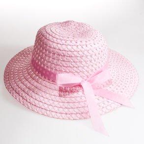 pink baby easter bonnet