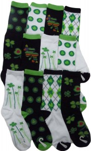 gilbin st patricks day socks