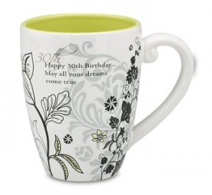 mark my words mug 30th birthday gift ideas for her